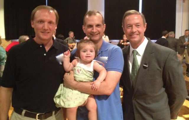 Mike, 'lil q, me and Governor O'Malley