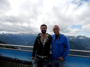 Rick and Nick at Mt Rainier