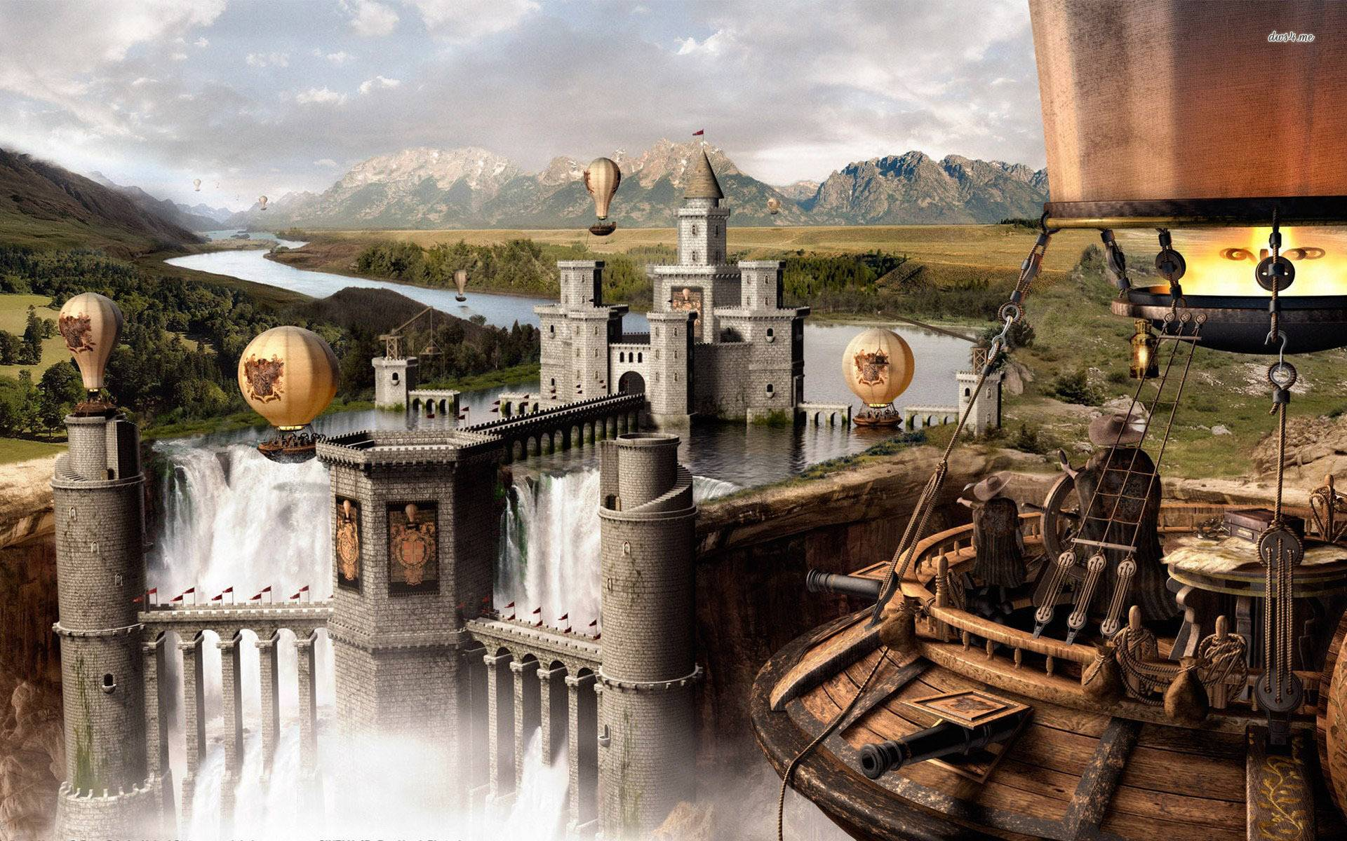 Fantasy City Wallpaper Hd: Blog Guest Post: Susan Laine: World-building Of The